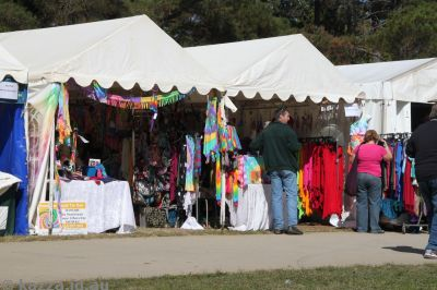 Colourful stalls
