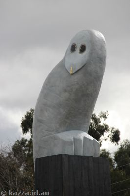 Belconnen Owl Sculpture