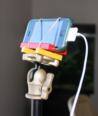 Time lapse Lego phone mount