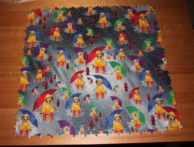 Raining cats and dogs jigsaw