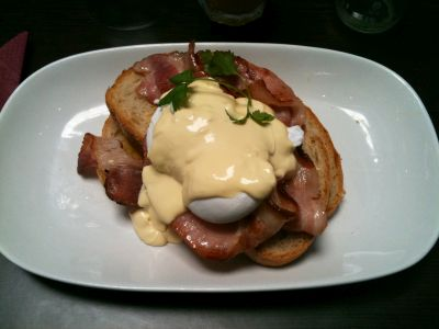 Scope's Eggs Benedict