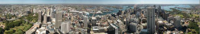 Sydney 360 panorama