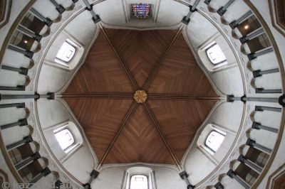 Temple Church roof