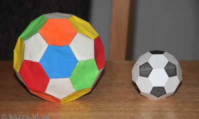 Truncated icosahedra