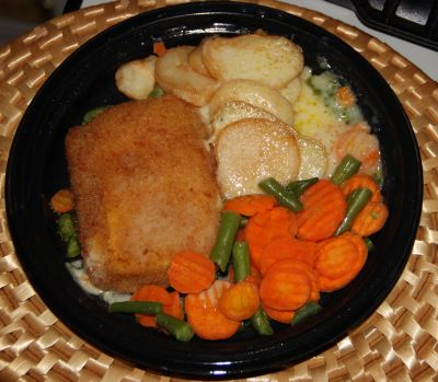 Veal cordon bleu tv dinner