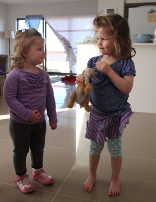 Violet and Immy