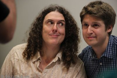 Weird Al Yankovic in Canberra
