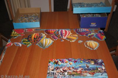 Life Jigsaw - hot air balloons