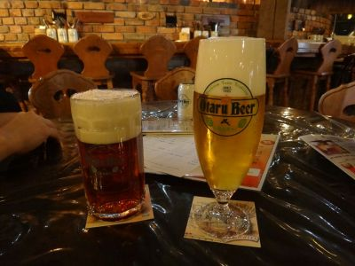 Otaru Dunkel and Pilsner, Japan