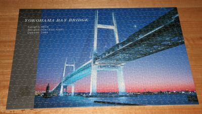 Yokohama Bay Bridge jigsaw