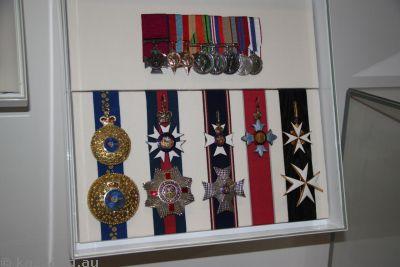 Roden Cutler's medals