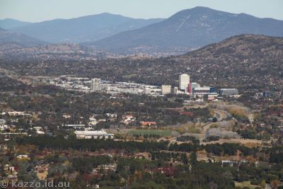 Woden from Black Mountain Tower