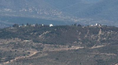 Mount Stromlo from Black Mountain Tower