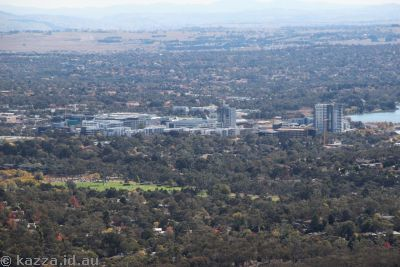 Belconnen from Black Mountain Tower