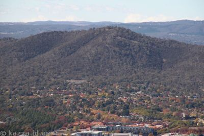 Mount Ainslie from Black Mountain Tower