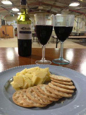 Club wine and cheese