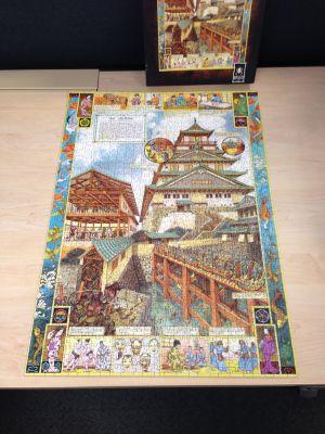 Osaka Castle Jigsaw
