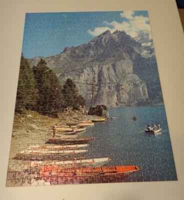 Mountain jigsaw