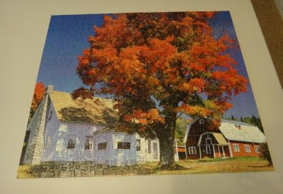 House and tree jigsaw