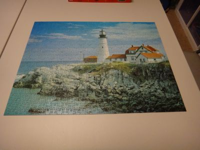 Lighthouse jigsaw