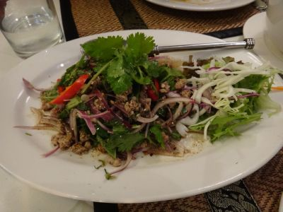 Little Siam pork larb