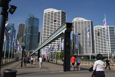 Sydney Monorail removal works