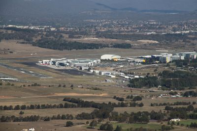 Airport from Mount Ainslie