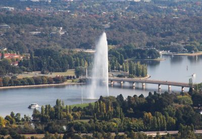Fountain from Mount Ainslie