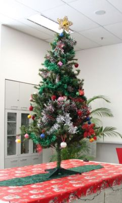 Social Club Christmas Tree