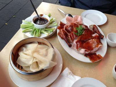 Super Bowl Peking Duck