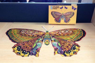Butterfly jigsaw
