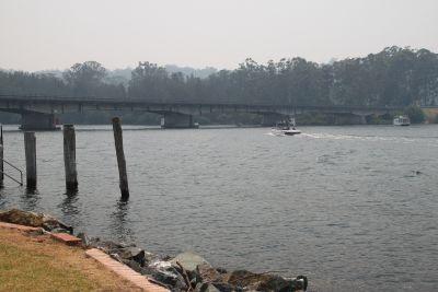 Bridge over the Clyde at Nelligen