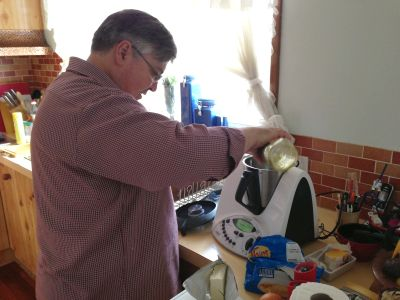 Damien and the Thermomix