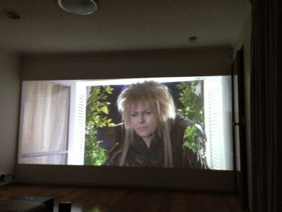David Bowie big screen