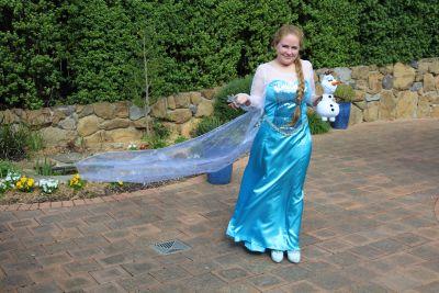 Me as Elsa