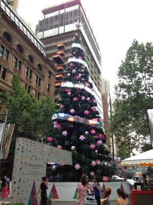 Martin Place Christmas Tree