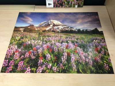 Mt Rainier jigsaw