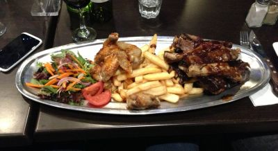 Outback Jack's platter