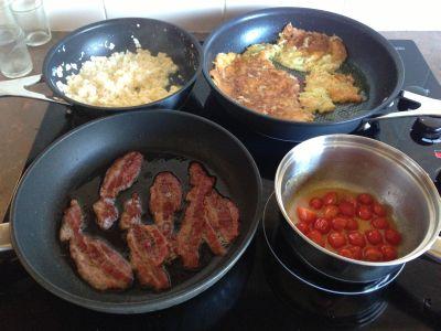 Random breakfast