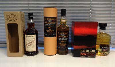 January whiskeys