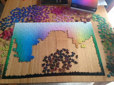 Colour jigsaw