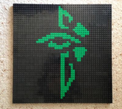 Enlightened Logo in Lego