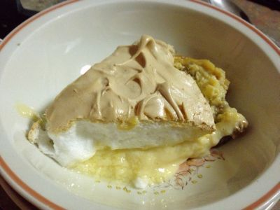 Lemon meringue mush
