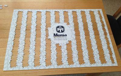 Mensa jigsaw
