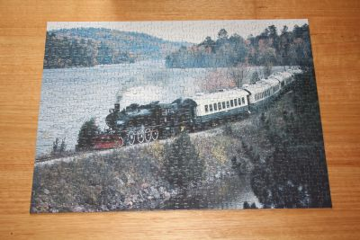 Train jigsaw