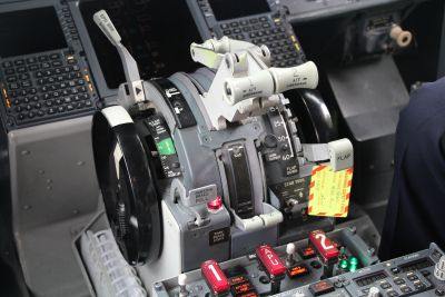 737 throttle controls