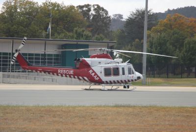 RAAF rescue helicopter (VH-VAB)