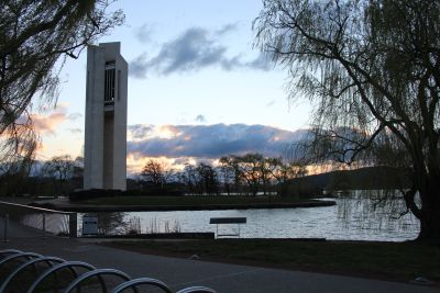 Carillon sunset