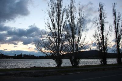Lake Burley Griffin Sunset
