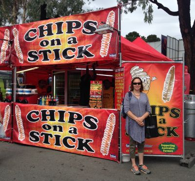 Chips on a stick!!!!!